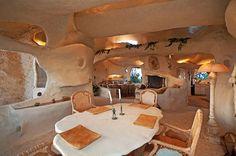 Dick Clark's Unique Flintstone-Style House For Sale in Malibu | http://www.caandesign.com/dick-clarks-unique-flintstone-style-house-for-sale-in-malibu/