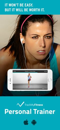 Stop spending your valuable time searching for workouts… Lose weight faster using Personal Trainer's progress and calories burned tracking. Keep it fresh with new weight loss workout videos updated weekly! #trackmyfitness
