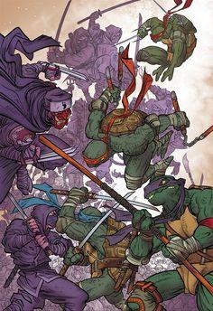 Teenage Mutant Ninja Turtles by Rafael Grampa
