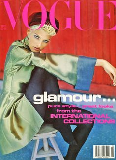☆ Linda Evangelista | Photography by Javier Vallhonrat | For Vogue Magazine UK | September 1991 ☆