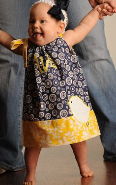 Adorable pillowcase dress! And it's even Appalachian colors! - Made about 50 of these for Sewing for Africa program -- so rewarding and fun with my sewing friends