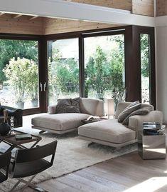Serene interior... great view!
