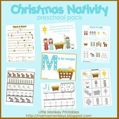 Nativity crafts for Pre-schoolers - buy for $1