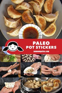 Paleo Potstickers (a.a Pot Stickers) These homemade grain-free, nut-free, dairy-free, egg-free, gluten-free Paleo Potstickers taste authentic and will even satisfy your dumpling loving non-paleo pals! Nom Nom Paleo, Nut Free, Grain Free, Dairy Free, Thing 1, Paleo Dinner, Dinner Recipes, Dinner Healthy, Eat Healthy