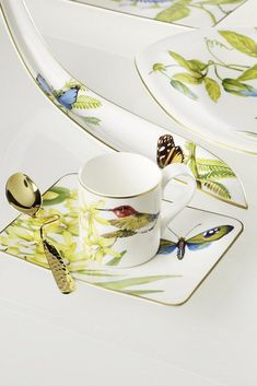 Farmhouse Touch blueflowers platillo 17 cm para taza de café Villeroy /& Boch