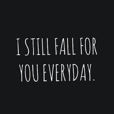 Even when we grow apart.