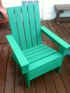 airondack chairs - from pallet wood of course