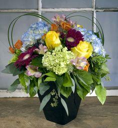 Colourful summer arrangement!