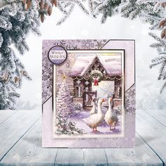 Winter Wonderland Topper Set - Winter Gathering | Hunkydory Crafts Hunkydory Crafts, Hunky Dory, Heartfelt Creations, Card Making Inspiration, Pretty Cards, Christmas 2015, Beautiful Christmas, Winter Wonderland, Card Ideas