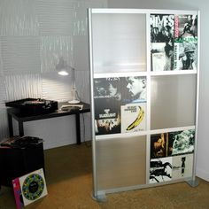 4' Wall with Album Cover Art