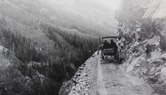 "This stretch of road, known as the ""Million Dollar Highway,"" extends twenty five miles between Silverton and Ouray, Colorado"