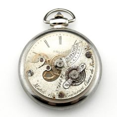 Steampunk Pocket Watch Sculpture - Front by IndustrialSwank on DeviantArt