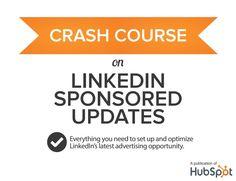 Linkedin Sponsored Updates vía @HubSpot