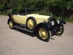 1924 Rolls Royce Silver Ghost Open Tourer By Barker