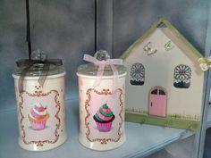 Handmade, bowl for flour, sugar . And keyholder Jar, Handmade, Home Decor, Hand Made, Decoration Home, Room Decor, Home Interior Design, Jars, Glass