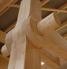 timber joints | Zurich's Tamedia Timber Office Constructed Completely Without Nails