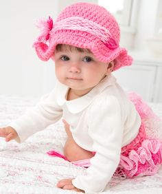 Country Baby Diaper Cover & Hat: free pattern
