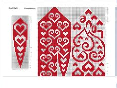 Crochet Mittens Free Pattern, Knit Mittens, Knitted Gloves, Knitting Socks, Knitting Charts, Knitting Stitches, Knitting Patterns Free, Crochet Patterns, Bead Crochet