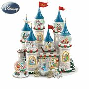 Disney's Christmas At The Castle Miniature Snowglobe Collection