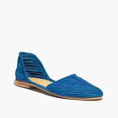 Proud Mary™ Raffia d Orsay Flats c3ed288df8c