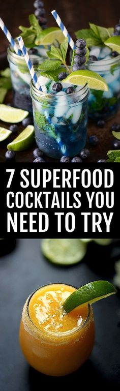 7 superfood cocktails you need to try.