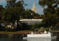 Take a boat tour of Winter Park