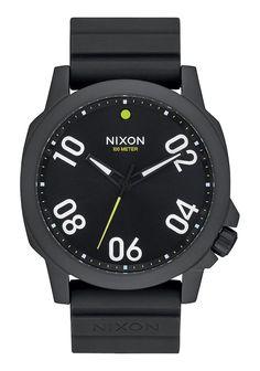 Nixon Ranger 45 Sport All Black Watch A957 001