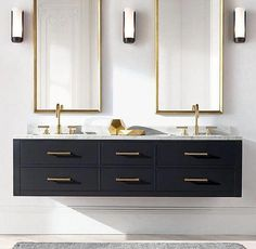 Bathroom decor for the master bathroom renovation. Learn master bathroom organization, master bathroom decor suggestions, master bathroom tile tips, bathroom paint colors, and much more. White Bathroom, Bathroom Interior, Modern Bathroom, Minimal Bathroom, Boho Bathroom, Bathroom Marble, Classic Bathroom, Industrial Bathroom, Turquoise Bathroom