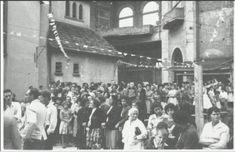 Inauguração da torre do Santuário Santa Isabel Rainha, Vila Santa Isabel (Janeiro, 1959)