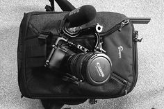 Treated myself to a nice new @loweprobags  kit bag and @rodemic video mic pro today. #videographer #kitbag #nerd #kit #rode #rodevideomicpro #a7s #movcam #sonya7s #canonef #canon #commlite #lowepro