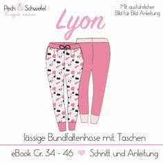 LYON ist eine coole Jersey-Hose mit Bundfalten, Seitentaschen und einer Öse am Bund, für die Du kein Werkzeug brauchst.