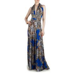 Von Vonni: Transformer Dress Royal Print, at 52% off!