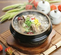 Galbitang is a soup-based dish made primarily from beef short ribs and it is one of most commonly found soups in Korean cuisine. @whatsupseoul  whatsupseoul.com