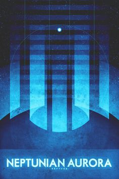 Deep Space Becomes a Tourist Destination in These Beautiful Vintage Travel Posters