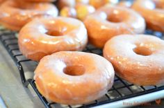 Pioneer Woman's Glazed Donuts, better than Krispy Kreme hands down!