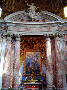S. Andrea al Quirinale, High Altar
