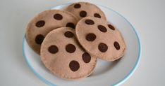 Cookies Kekse Schokostückchen Schokolade Filz Kaufladen Kinderküche