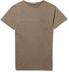 Boglioli Striped Cotton-Jersey T-Shirt