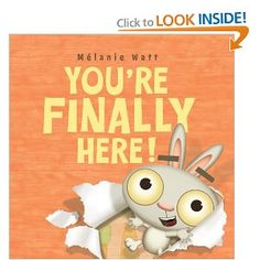 You're Finally Here! (book for first day of school)