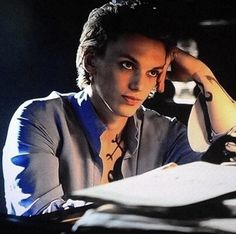 Jace Wayland/Herondale, Jamie Campbell Bower - in this scene, he was actually perfect