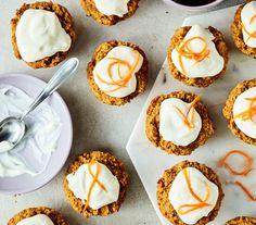 Muffinit leivotaan tällä kertaa kookosjauhoista, joten ne sopivat myös keliaakikoille. 20 Min, Margarita, Cheesecake, Goodies, Baking, Desserts, Food, Sweet Like Candy, Tailgate Desserts