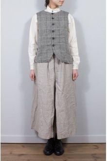 ハイカウントリネンキュロットスカート - nest Robe ONLINE SHOP