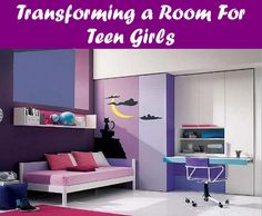 Teenage Girls Bedroom Design, An invitation for every teenager and cheerful girl wants to design her bedroom; here you are a collection of very attractive teenage girls bedroom designs that help you Cool Girl Bedrooms, Teenage Girl Bedroom Designs, Girls Room Design, Purple Bedrooms, Teenage Girl Bedrooms, Small Room Design, Teenage Room, Awesome Bedrooms, Cool Rooms