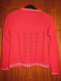 IMG_0905 Rainbow Cardigan, Pullover, Sweaters, Design, Fashion, Moda, Fashion Styles, Sweater