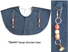 "Bird Shoulder Cape - the sanitary ""shoulder perch"" for your bird Parrot Pet, Parrot Toys, Cockatiel Cage, Heavy Duty Velcro, Shoulder Cape, African Grey Parrot, Bird Toys, Blue Design, Pet Birds"
