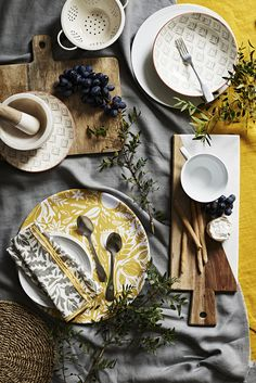 We love it this time of year where we get to see all the Autumn/Winter  collections from our favourite brands. Available in store from September,  Sainsbury's design themes see a woodland palette with pops of mustard and  grey inspired by the Arts and Crafts movement bringing autumn warmth into  the home, alongside an elegant, timeless collection in a soft wintry  palette capturing the essence of French living.  Bring autumnal warmth into the home with mustards and grey tones for a  cosy…