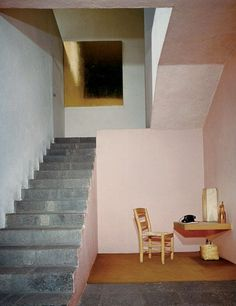 """Mexico City, 1948 Barragán and the modernist movement: Mexican Architect-1902-88-modernism-worked with Andres Casillas- """"the house is not a machine for living""""- opposed to functionalism """"any work o..."""