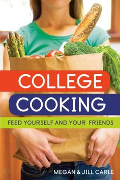 Bought this for my niece, who is a college freshman, but found it's also great for busy families and novice cooks of any age. Quick, healthy recipes using few ingredients. College Life, College Food, College Invest, College Cooking, Uni Life, College Ready, Dorm Life, College Hacks, College Recipes