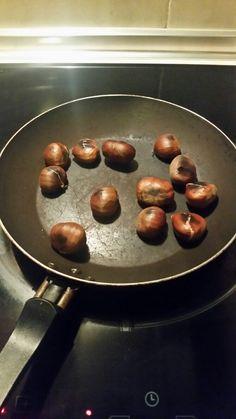"""#Castañas """"asadas"""" en casa."""