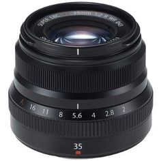 Fuji 35mm f2 R WR Fujinon Lens - Black. I loved the 1.4, and I think either one is outstanding.